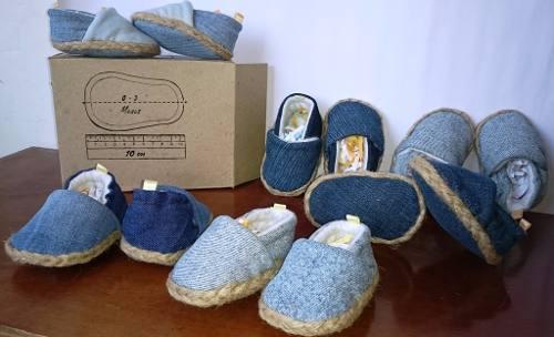 Zapatillas cocuizas bebes recien nacidos bambas alpargatas