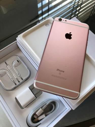 Iphone 6s plus 64gb/ rose tienda física cc free market