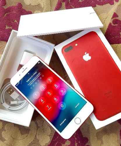 Iphone 7 plus 128gb rojo somos tienda física cc free market
