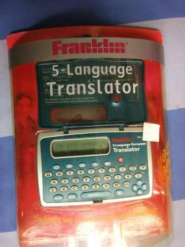 Agenda Traductor De 5 Idiomas