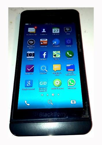 Blackberry z10 liberado operativo vidrio templado y forro