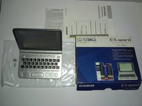 Diccionario Traductor Digital Casio Ingles/ Español Ew S300
