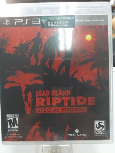 Juegos ps3 original dead island riptide físico somos tienda