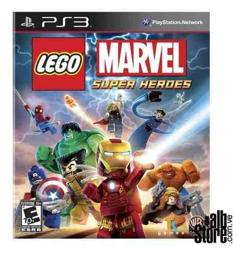 Lego marvel super heroes ps3 digital original entrega tienda