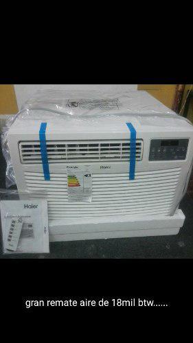 Aire acondicionado de ventana 18.000 btu nuevo