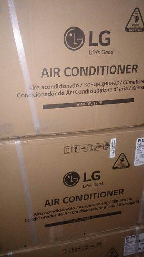 Aire acondicionado lg ventana corriente 220 con control