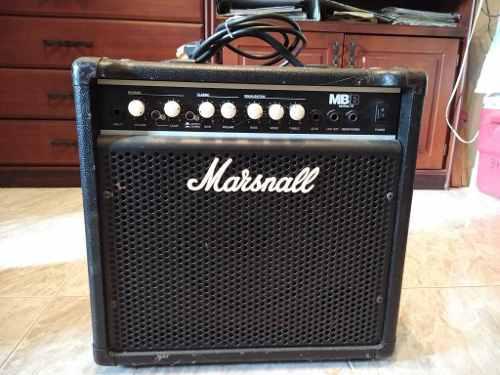 Amplificador bajo marshall mbb15