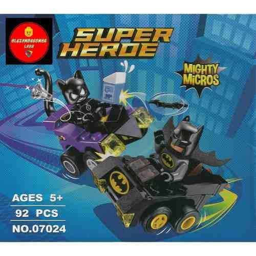 Armables lepin0702 héroes vs villanos