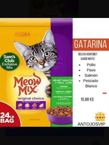Gatarina Meow Mix 24 Lb (10.88 Kg)
