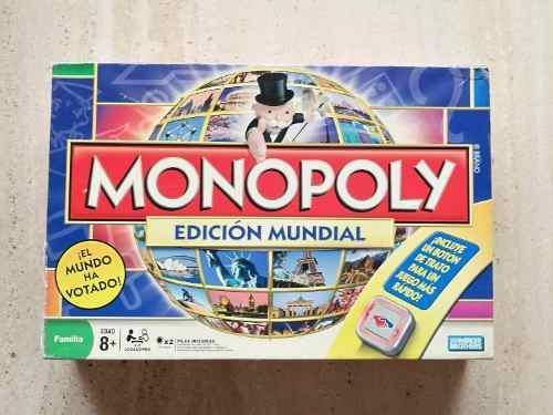 Juego de mesa monopolio monopoly edicion mundial