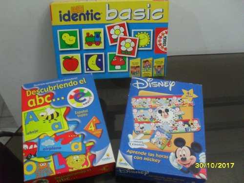 Juegos educativos de mesa para niños y rompecabezas oferta