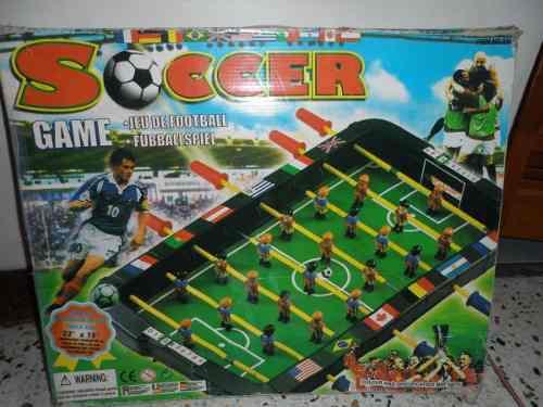 Mini mesa de futbolito