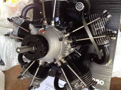 Motor rc moki 250 radial