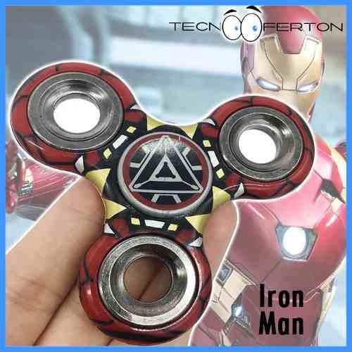 Super fidget spinner vengadores iron man **remate**
