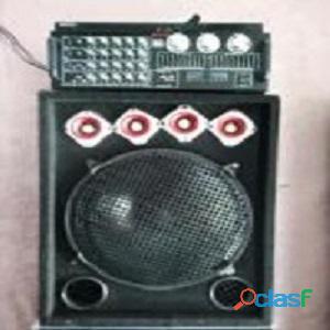Planta de sonido ktv y dos cornetas amplificadas