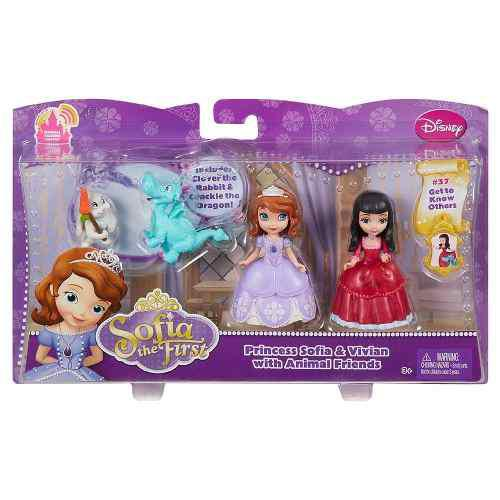 Juguete princesa sofia vivian animal disney mattel original