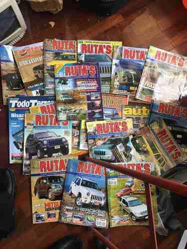 Lote De Revistas Rutas