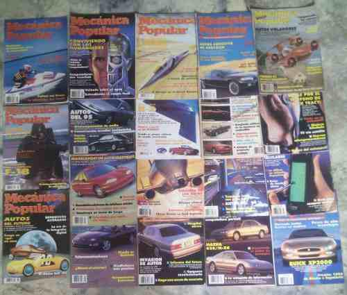 Mecanica Popular, Coleccion De (20) Revistas