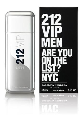 Perfume 212 Vip Men De Carolina Herrera Para Caballeros