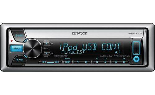 Radio reproductor kenwood kmr-d358 cd | usb | ipod