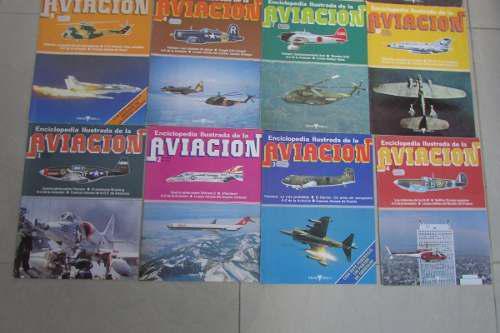 Revistas Enciclopedia Ilustrada De La Aviacion 13 Ejemplares