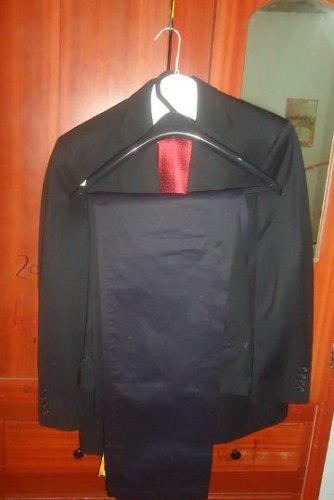 Traje de caballero flux, chaleco, pantalon y corbata