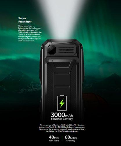 Blu tank 2.4 torch tienda fisica
