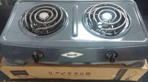 Cocina electrica 2 hornillas original haceb (80$)