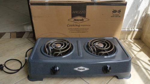 Cocina electrica haceb 2 hornillas con garantia de 1año