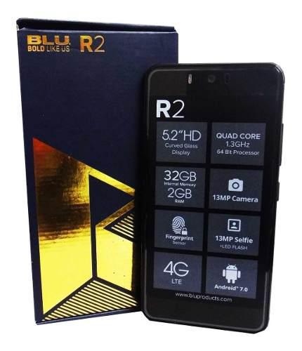 Telefono Blu R2 Dual Sim Android Liberado Whatsapp Instagram