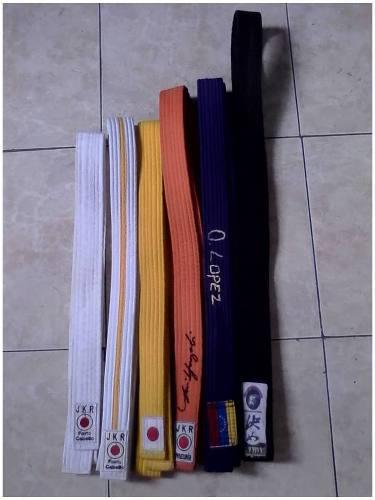 Cinturones Para Karate