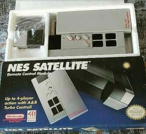 Controles De Nintendo, Nes Satelite