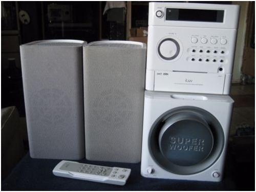 Equipo de sonido iluv