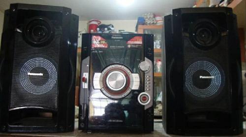 Equipo de sonido panasonic s c- ak580pn-k optim 100trump 51v