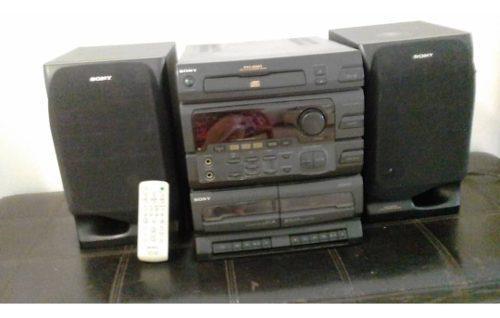 Equipo Música Sony Multifuncional Con Su Control Impecable