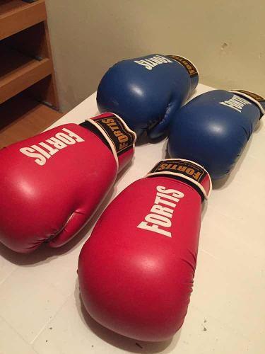 Guantes De Boxeo 16oz Marca Fortis