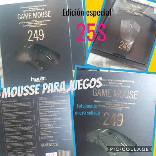 Mousse Para Juegos 249 Nuevo