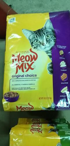 Alimento para gatos meow