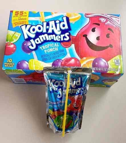 Kool aid jammers listo para tomar importado