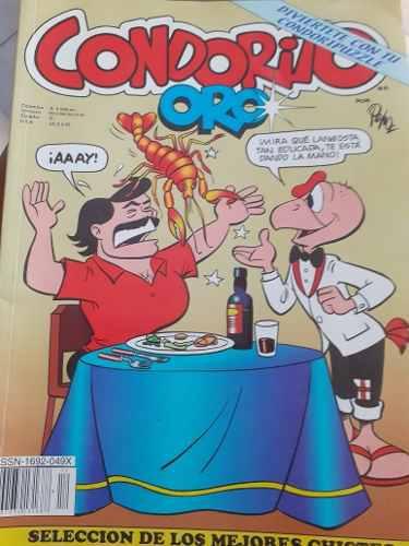 Revista de condorito grande edición de oro