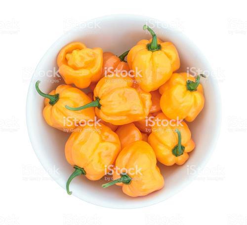 Semillas de aji dulce amarillo rosita