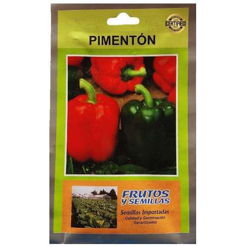 Sobre 3250 semillas de pimenton 25 gramos importadas