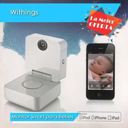 Monitor para bebes smart withings / ipad / iphone