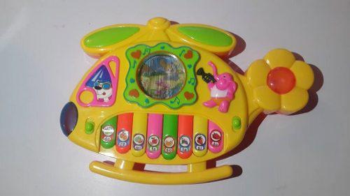 Juguete piano musical con luces canciones musica niñas