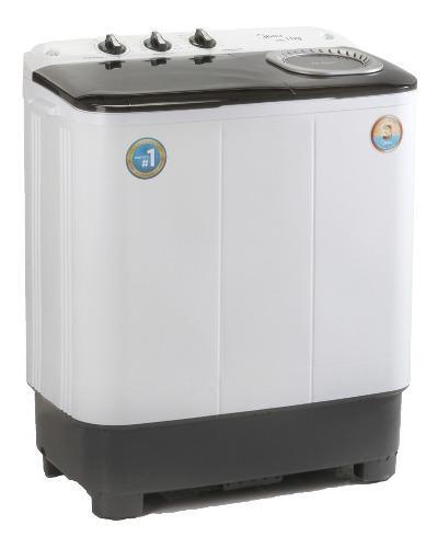 Lavadora doble tina semi automatica 6 kg lanix