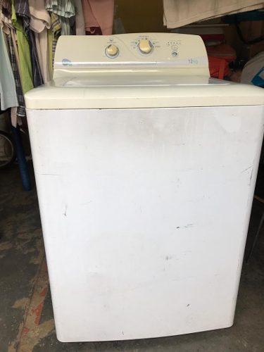 Lavadora mabe de 12 kg modelo lae12020pb1