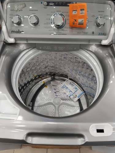 Lavadora mabe de 22kg carga superior nueva pague al recibir