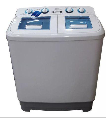 Lavadora semiautomatica doble tina lanix 11kg (tienda)