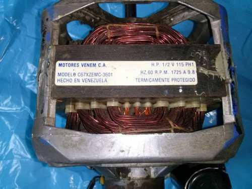 Motor de lavadora semi automática