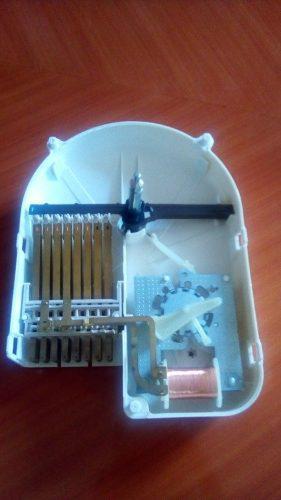 Platinera de reloj de lavadora kingston color blanco ge